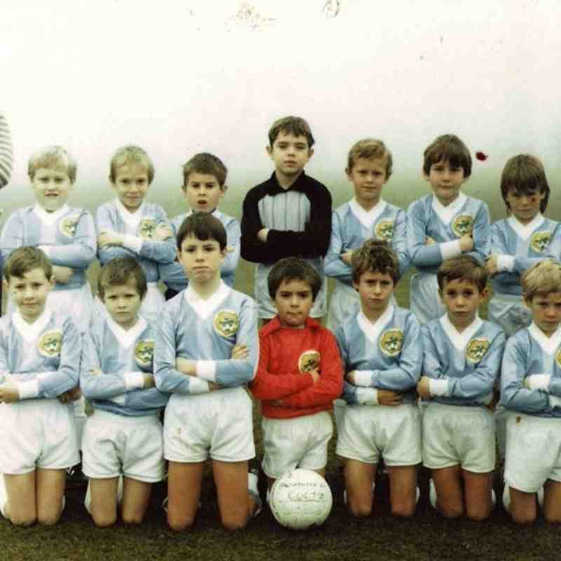 Old Team Photos - 1985 -1986