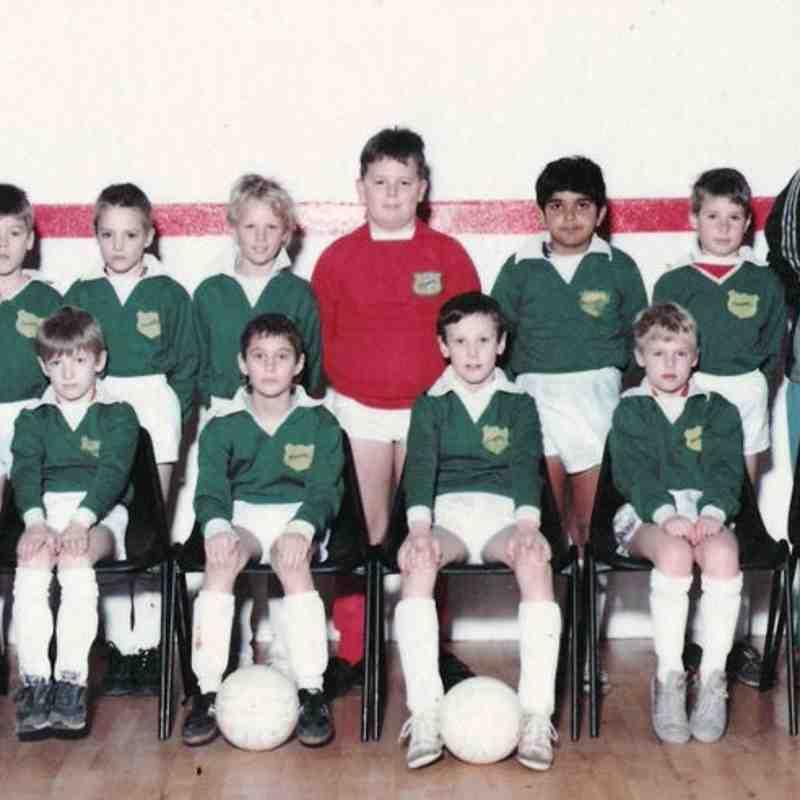 Old Team Photos - 1988 -1989