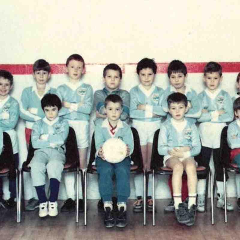 Old Team Photos - 1989 -1990