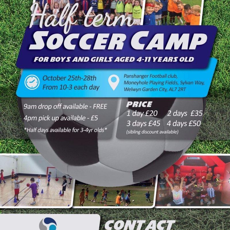 Cloudline October Half Term Football Camp