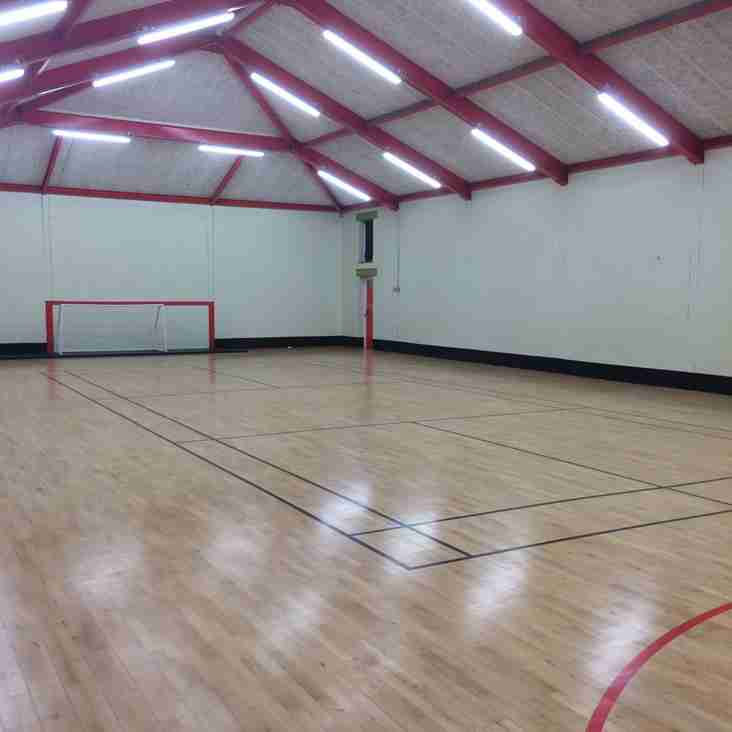 Hall Hire Available at Panshanger FC