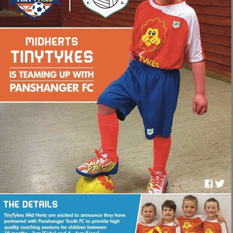 Fun for the Under 6's with Panshanger FC Tiny Tykes