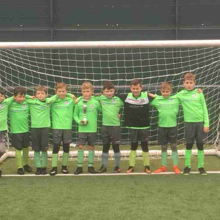 Panshanger FC U9 Lions - Tournament Success