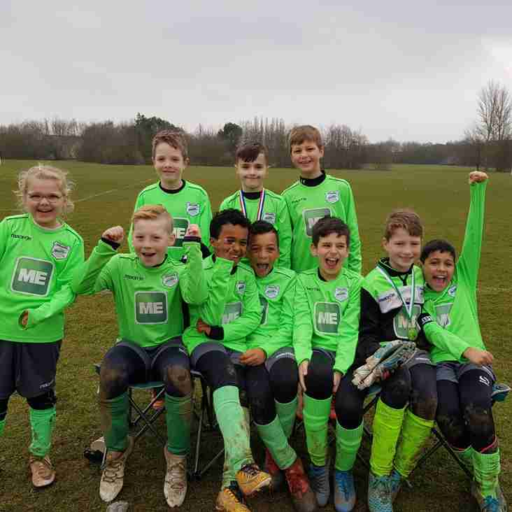 U10 Pumas through to Divisional Cup Final!!!