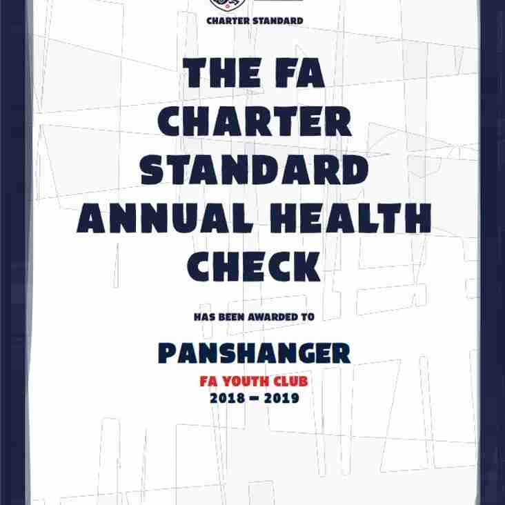 Panshanger FC join the Country's Best Clubs