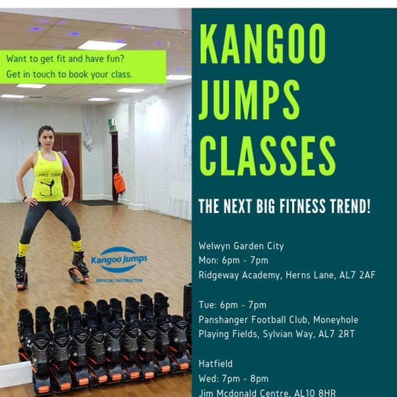 Kangoo Jumps - Tuesdays 6-7pm at Panshanger FC