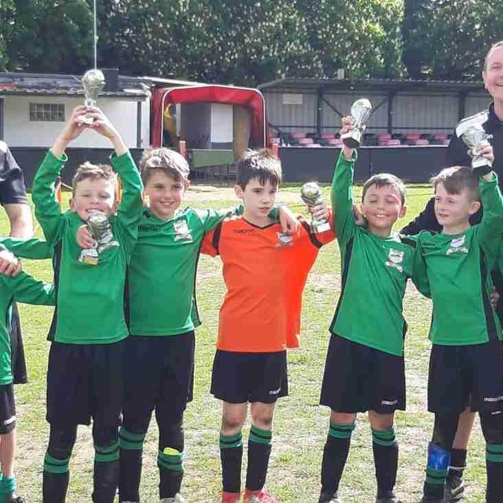 Great Achievement for U9 Lions at Sawbridgeworth Tournament