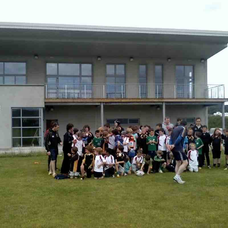 Ulster rugby camp  Letterkenny 2012