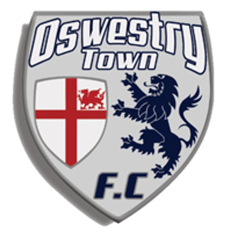 Oswestry Town v Eccleshall FC