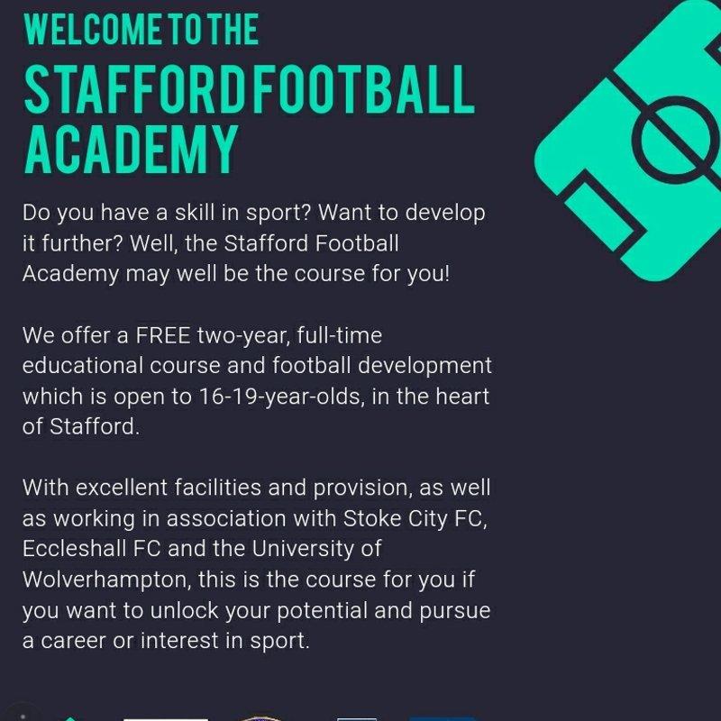 Stafford Football Academy