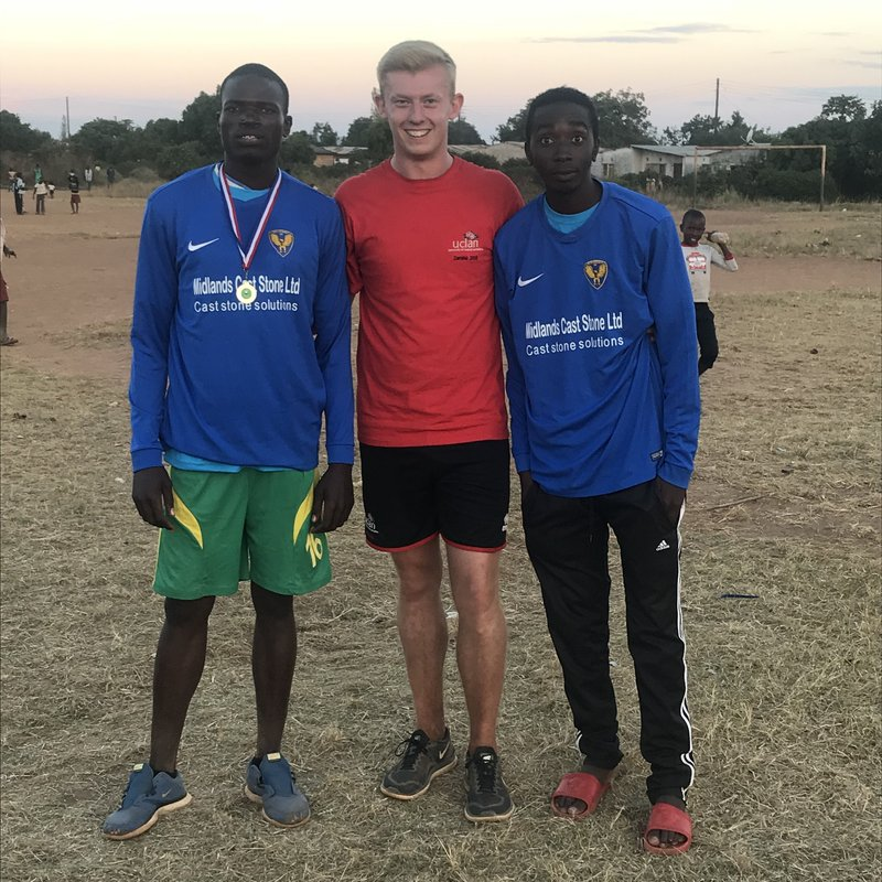 Eccleshall In Africa