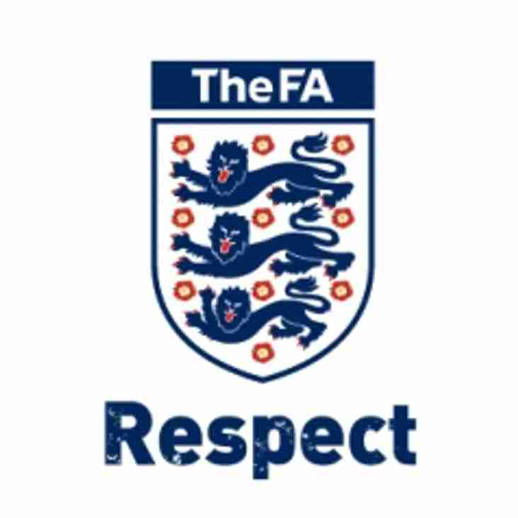 The FA's Respect codes of conduct for parents/carers