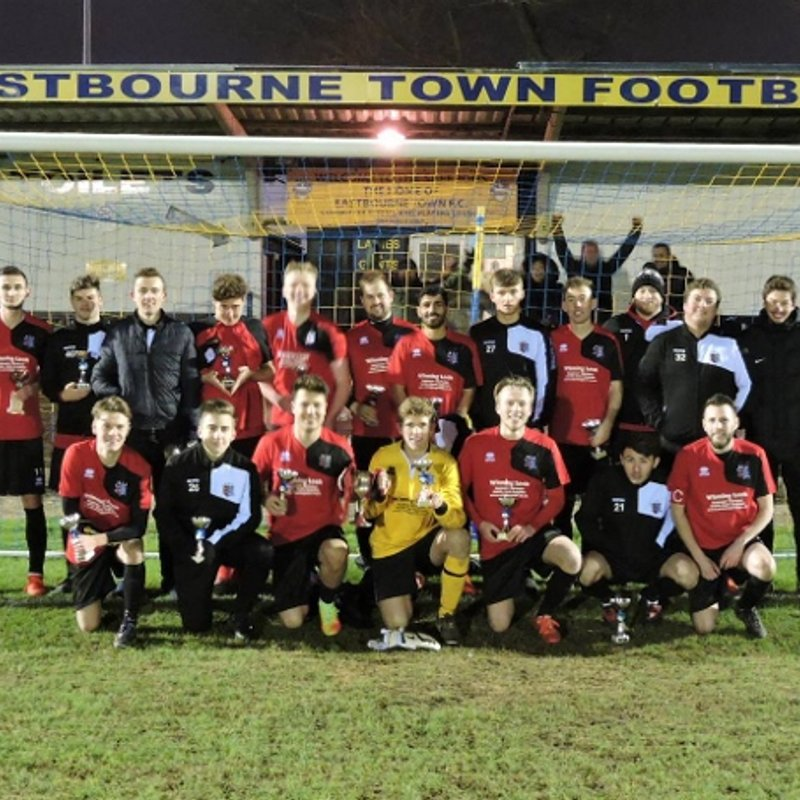 AFC Uckfield Town U21's Eastbourne Challenge Cup Final Jan 17