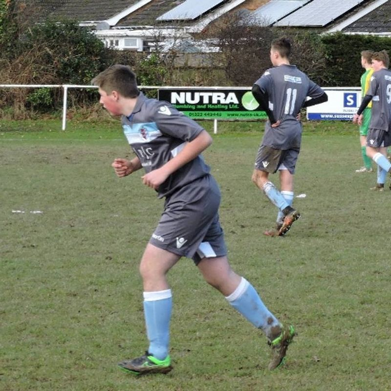 U16 Harry Funnell Sores for Dominant AFC on his Debut