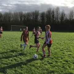 League Cup Quater Final St Francis 2 - Saints 8