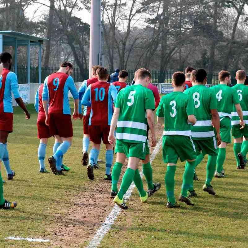 HGFC v Welwyn Garden City 12 March 2016 - Club photos - Holmer Green FC