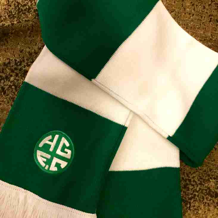 Holmer Green FC Scarves have arrived!