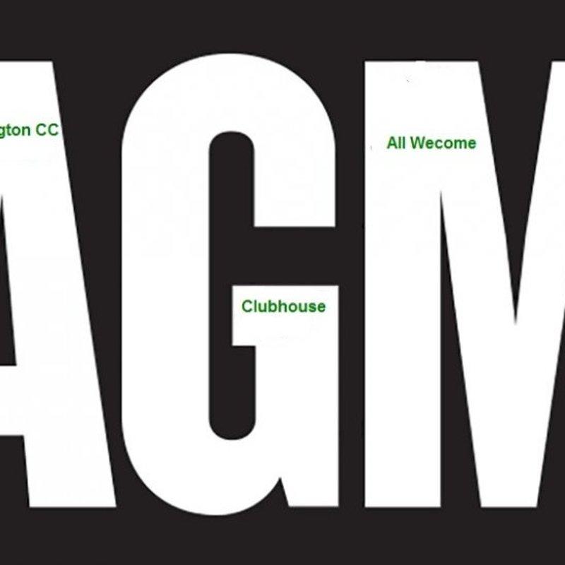 Brislington CC AGM