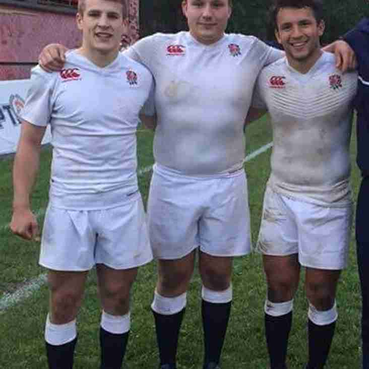 All 3 North U20 players start for England