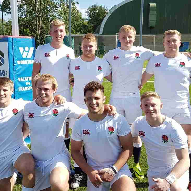 England Counties U20 take the Northerly Route