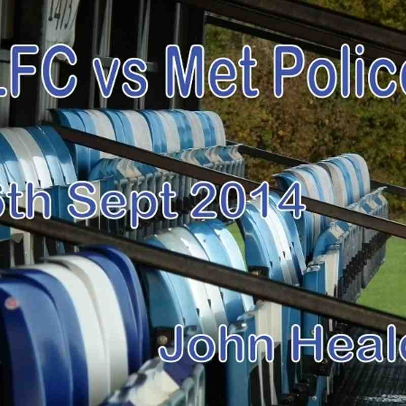 LFC vs Met Police  6th Sept 2014