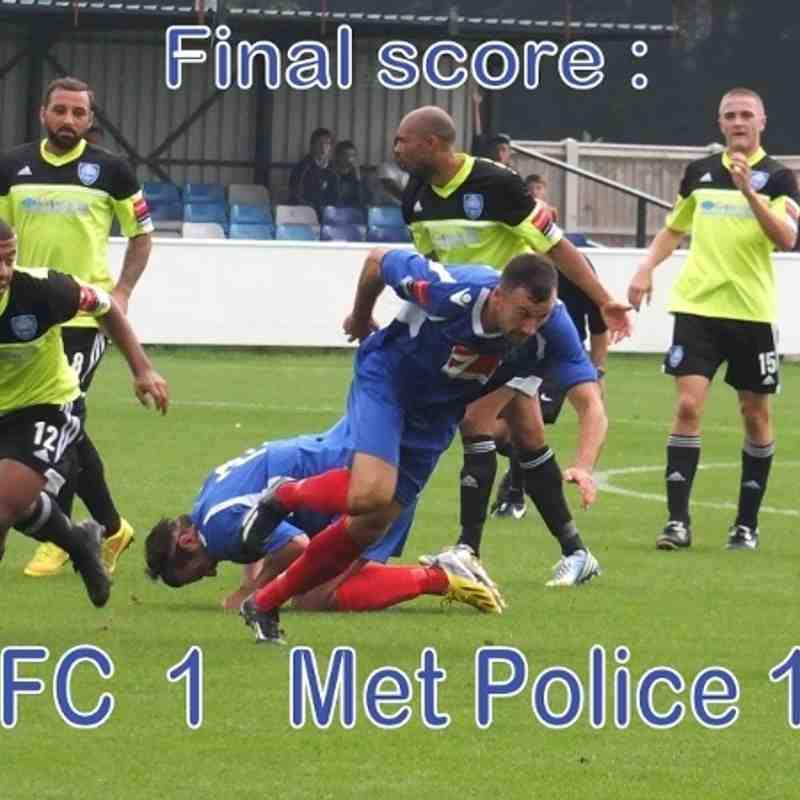 LFC vs Met Police  6th Sept 2014