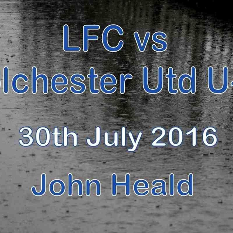 LFC vs Colchester Utd U-21   30th July 2016  John Heald