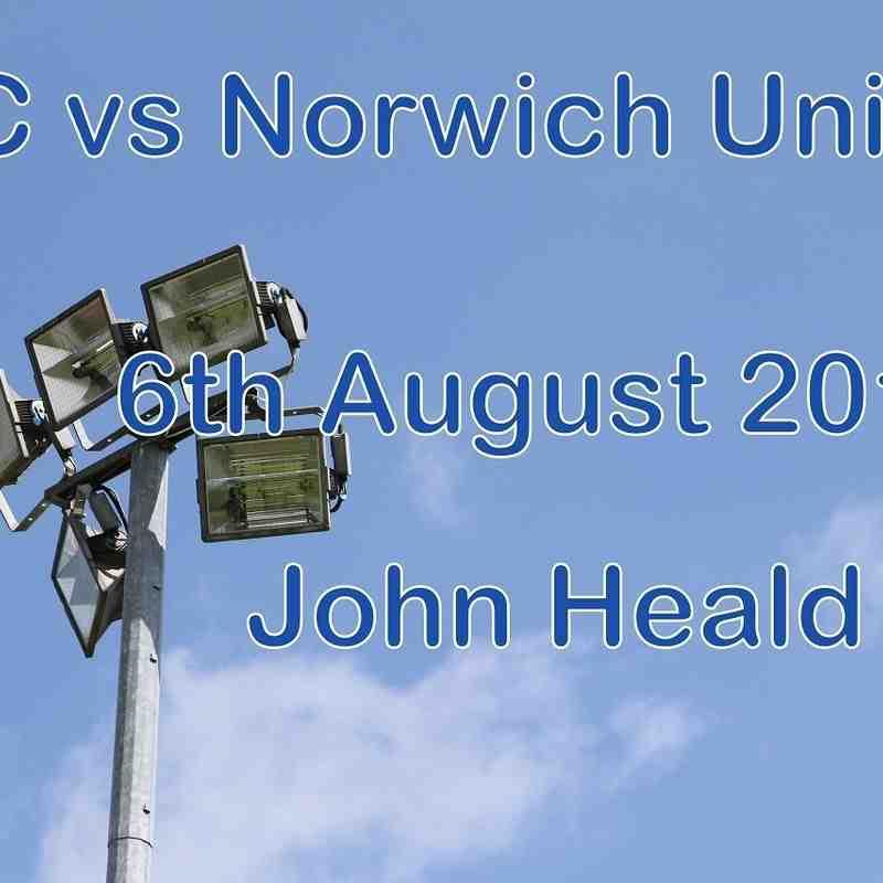 LFC vs Norwich United   6th August 2016  John Heald
