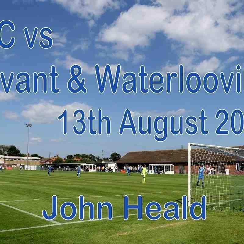LFC vs Havant & Waterlooville  13th August 2016  John Heald