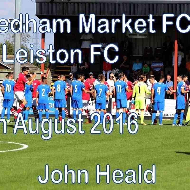Needham Mkt FC vs Leiston FC  29th August 2016   John Heald