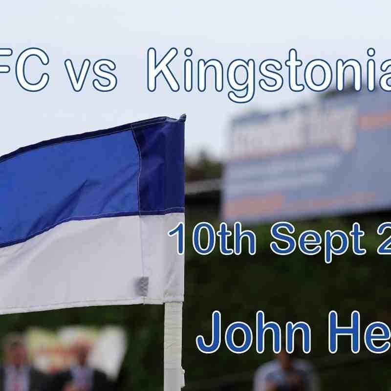 LFC vs Kingstonian  10th Sept 2016  John Heald
