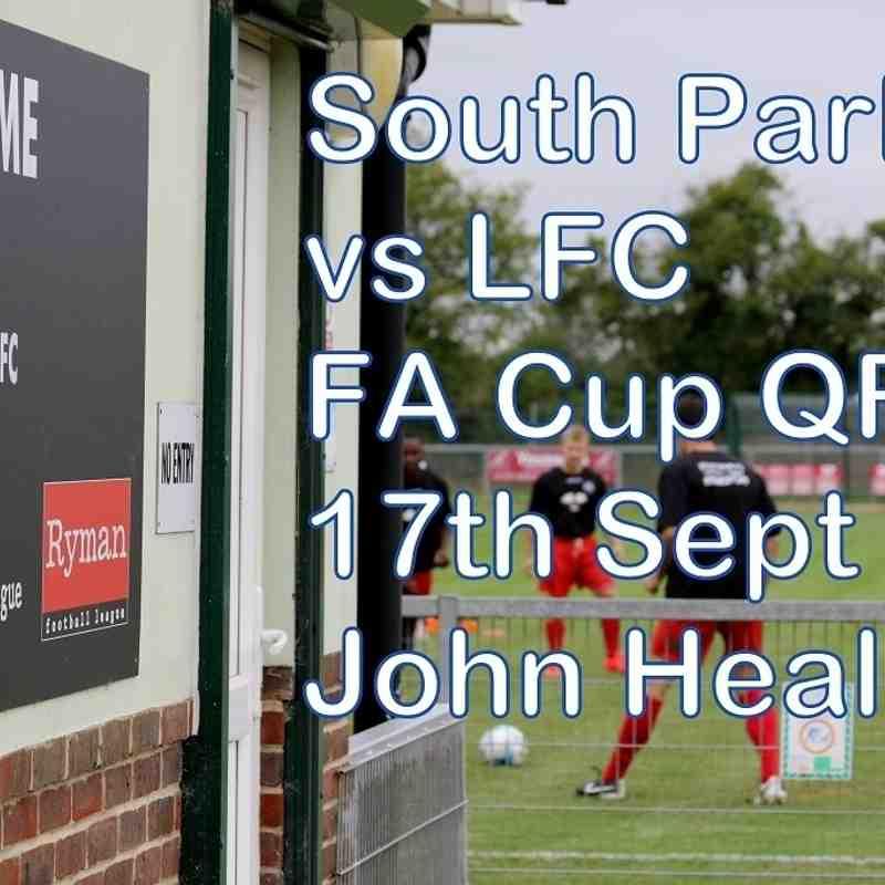 South Park vs LFC  17th Sept 2016  John Heald