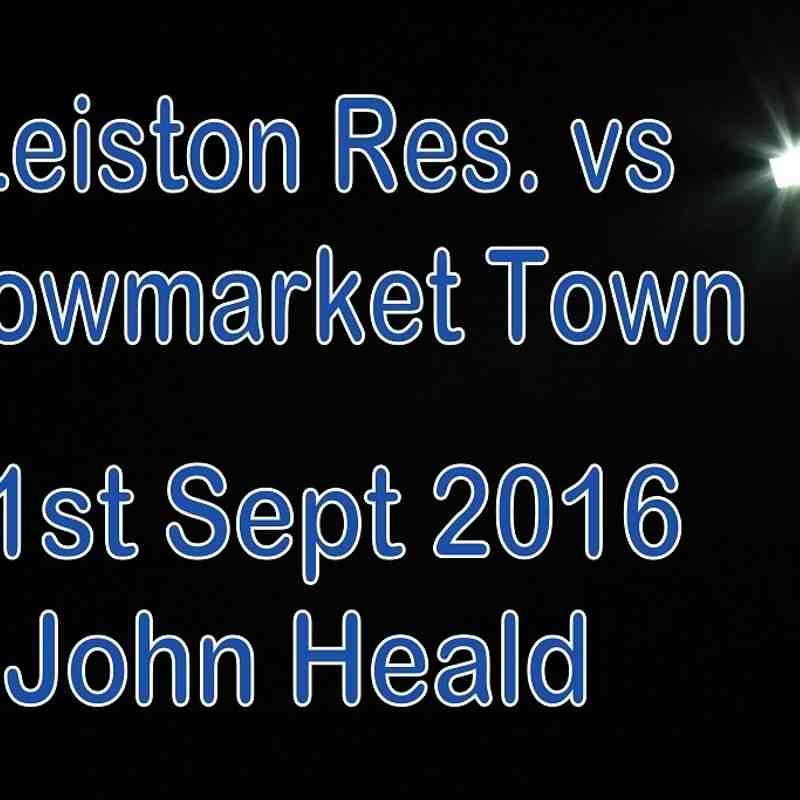Leiston Res vs Stowmarket Town   21 Sept 2016   John Heald