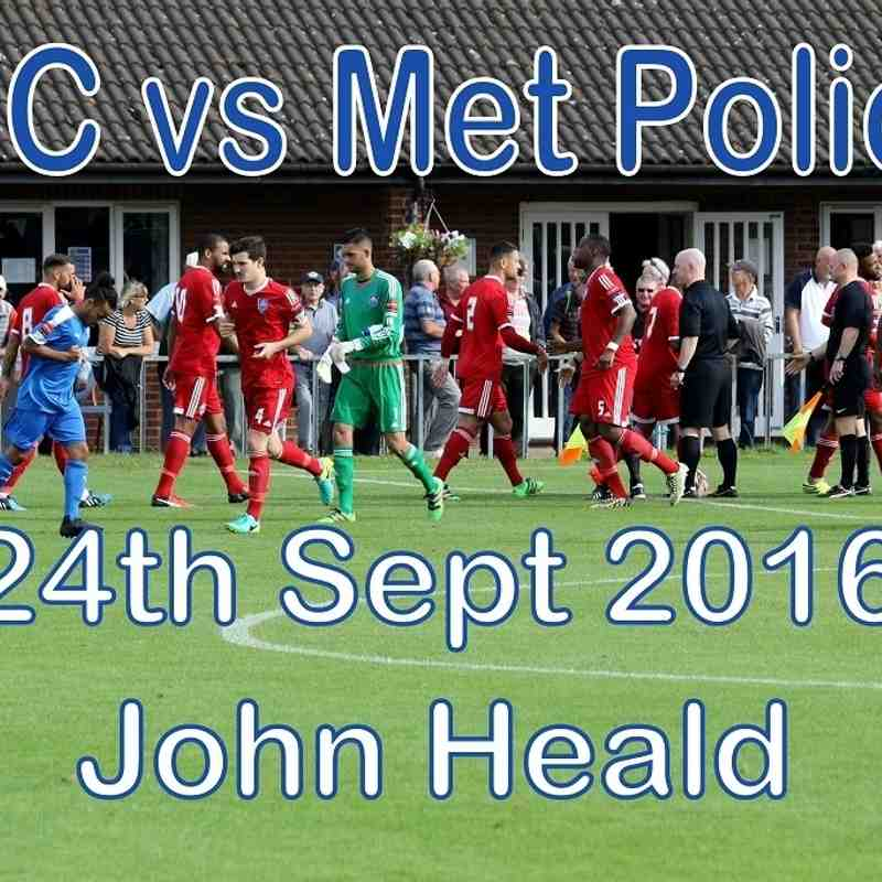 LFC vs Metropolitan Police  24 September 2016  John Heald