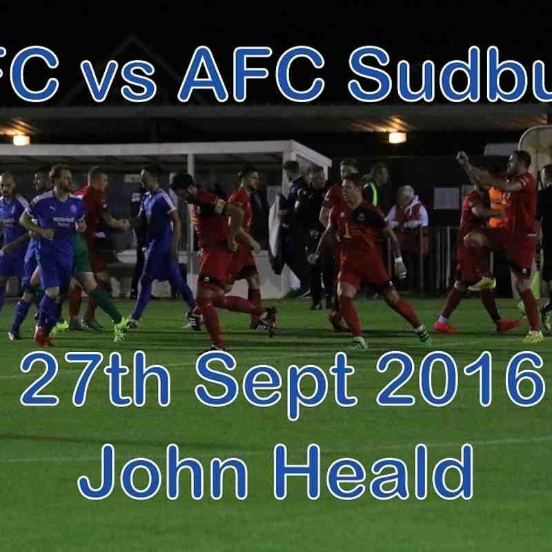 LFC vs AFC Sudbury  27th Sept 2016  John Heald