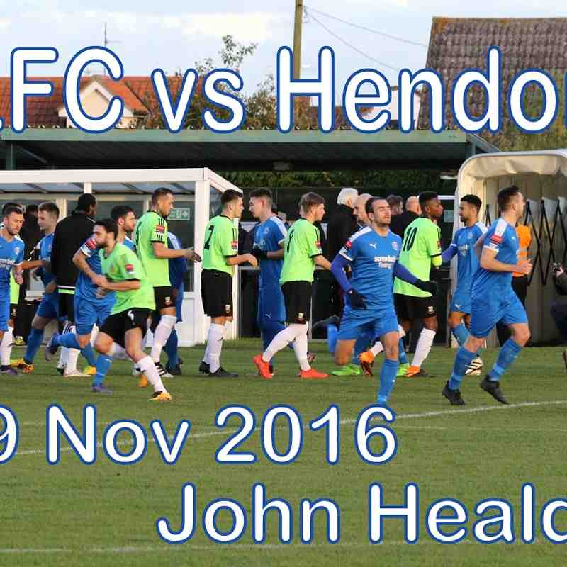 LFC vs Hendon  19th November 2016  John Heald