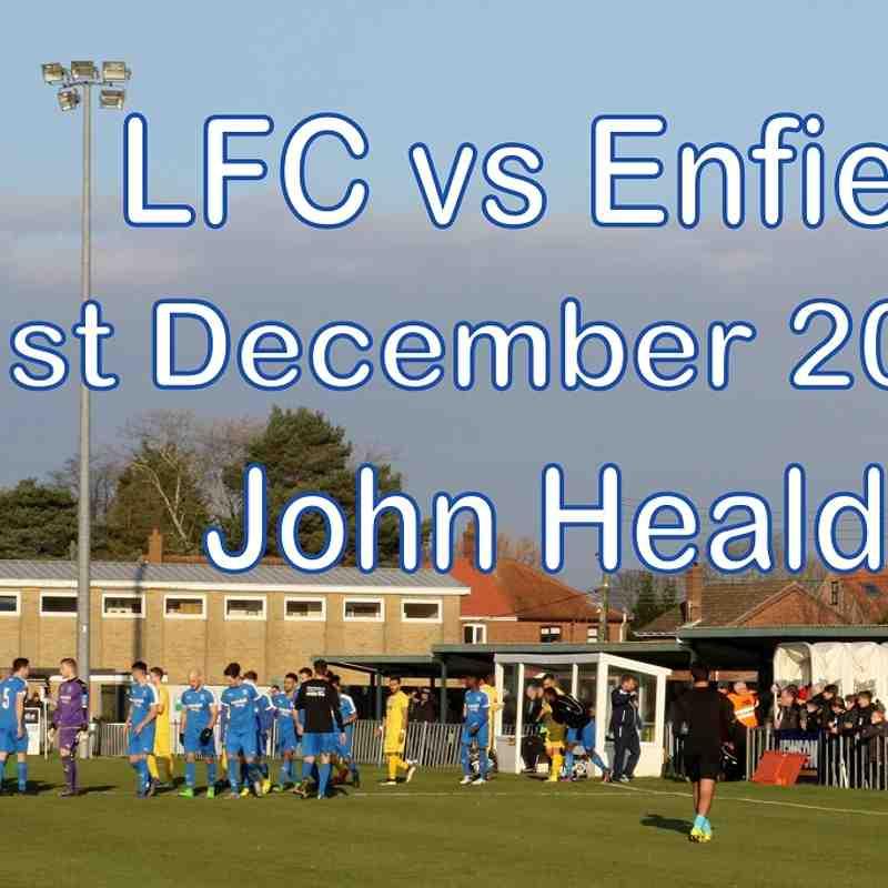 LFC vs Enfield Town  31 Dec 2016  John Heald
