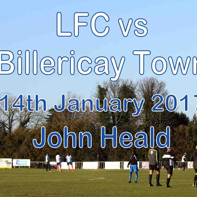 LFC vs Billericay Town  14 Jan 2017  John Heald