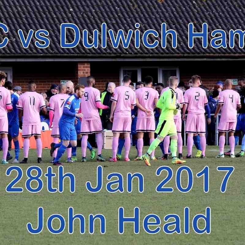 LFC vs Dulwich Hamlet 28 Jan 17  John Heald