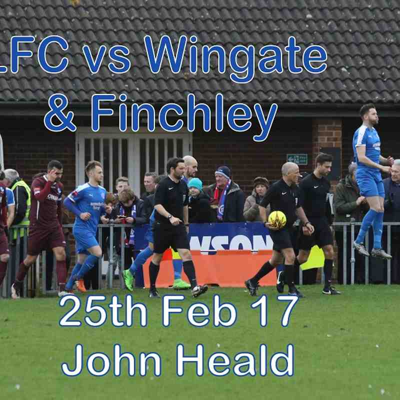 LFC vs Wingate& Finchley  25 Feb 17  John Heald