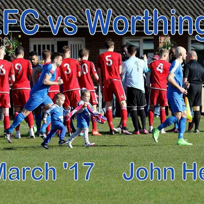 LFC vs Worthing  25th March 17   John Heald