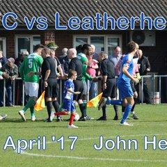 LFC vs Leatherhead  8th April '17  John Heald