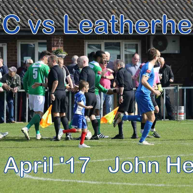 LFC vs Leatherhead  8th April '17  John Heald