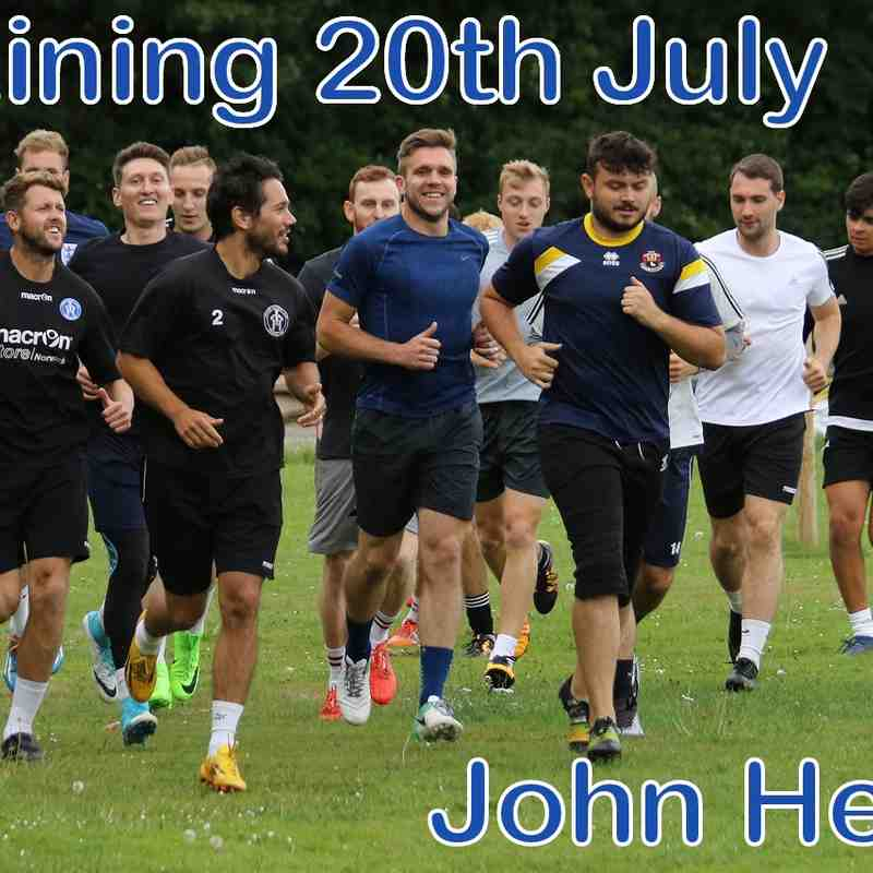LFC Training 20th July  John Heald