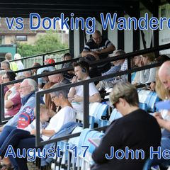 LFC vs Dorking Wanderers  12th August '17  John Heald