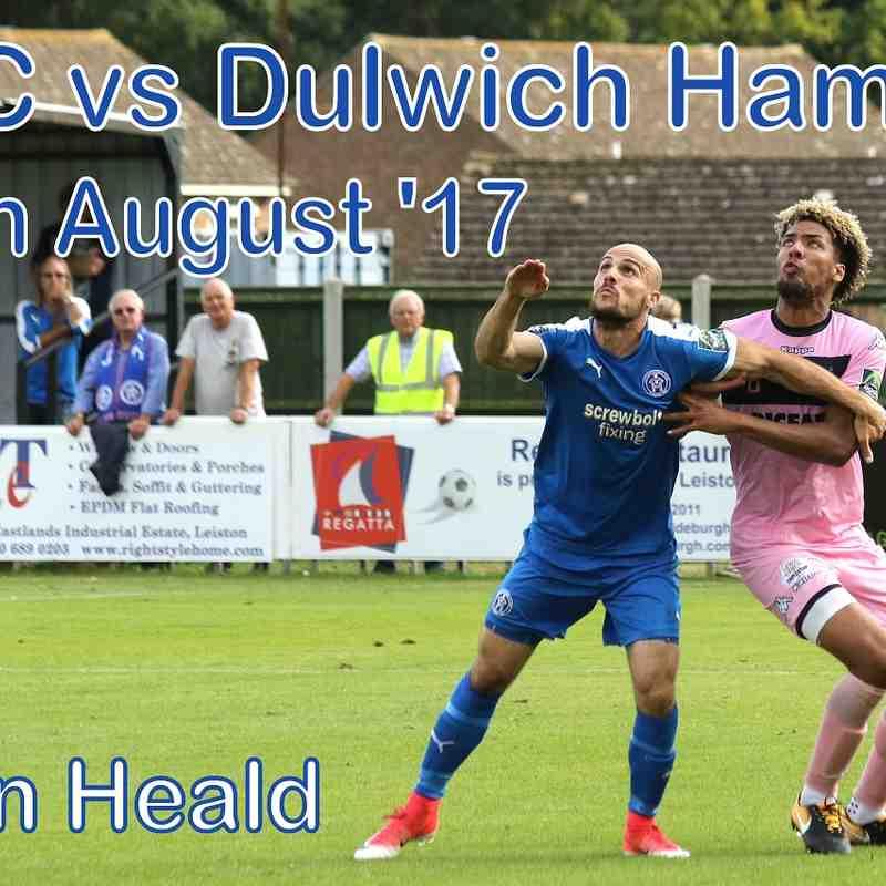 LFC vs Dulwich Hamlet 26 Aug '17  John Heald