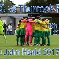 LFC vs Thurrock FC  9th Sept '17  John Heald