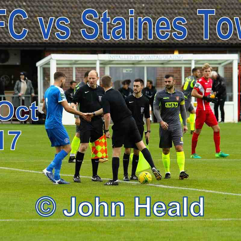 LFC vs Staines Town 7th Oct '17   John Heald