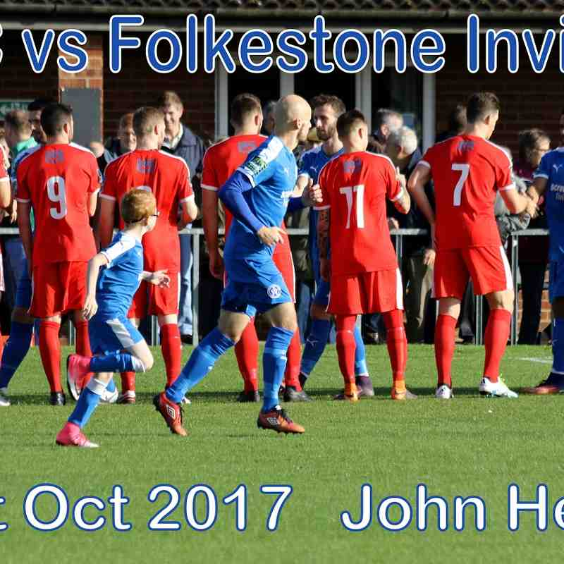LFC vs Folkestone Invicta  21st Oct '17  John Heald