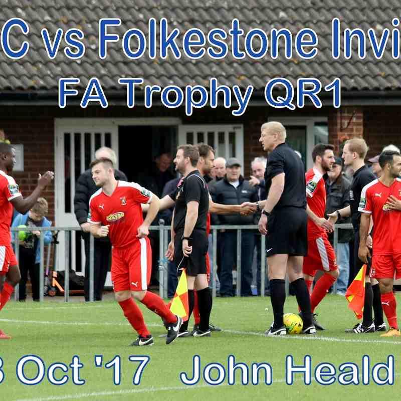 LFC vs Folkestone Invicta  FA Trophy QR1   28 Oct '17   John Heald